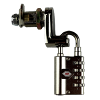Padlockable Cam Locks