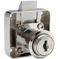 Square back slamlock cupboard lock