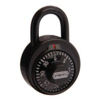 Abus Dial Combination Padlock 78KC50NKA501 Anti Shim Black Dial School Locker