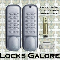Digital Lock Dual Keypad Atlas LG202