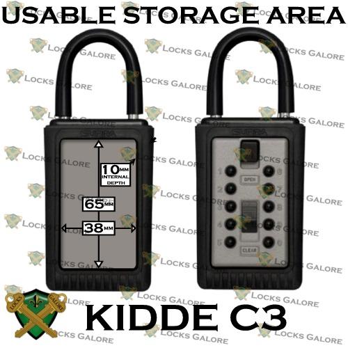 Kidde Key Safe 001192 Portable - Locks Galore