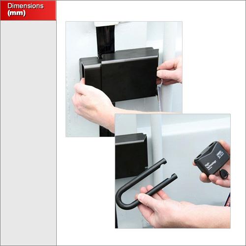 Abus Container Lock Granit 215/100 - Locks Galore
