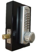Lockey 3210DCMG Dual Keypad Digital Deadbolt