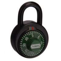 Abus Combination Padlock 78KC50 Green Dial School Locker
