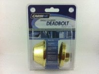 Carbine alb Single Cylinder Deadbolt
