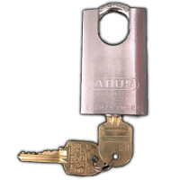 Restricted Key Abus 83/50 Closed Shackle Padlock