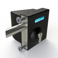 Quick Exit Gate Lock with Key SBQEKLR02 Right Handed Gates