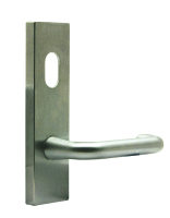 Hafele 600 Series External with oval cylinder hole and lever handle 90.199.138