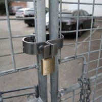 Abus Gatesec for round pipe gates