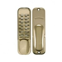 Borg 2000 Polished Brass Digital Lock