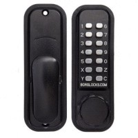 BORG 2601 DIGITAL LOCK MARINE GRADE PRO BLACK