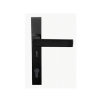 Austyle Black Architectural Entrance Lever Set 53670M