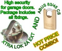 Xtra Lok 2A EXT & Abus 83/45 Closed Shackle Padlock