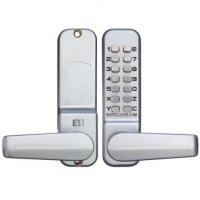 BORG DIGITAL LOCK 2301 Satin Chrome Lever Handle