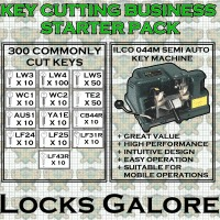 Basic Key Cutting Starter Kit