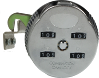 Combination Cam lock LG904S for Sliding Cabinet Doors 2