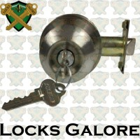 Carbine Aintree Satin Chrome Lockset