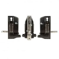 Borg 3430 dual keypad lever with KO