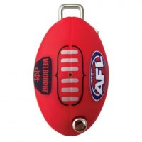 CMS AFL Key LW4 Profile Melbourne Demons Flip Key