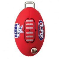 CMS AFL Key LW4 Profile North Melbourne Kangaroos Flip Key