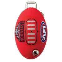 CMS AFL Key LW4 Profile Essendon Bombers Flip Key