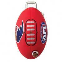 CMS AFL Key LW4 Profile Adelaide Crows Flip Key