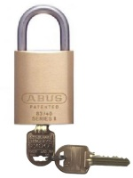 Restricted Ilco IP8 Key Abus Padlock 83IB/40