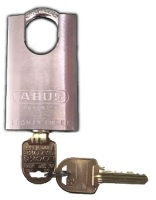 Restricted ILCO IP8 Key Abus 83/50 Closed Shackle Padlock