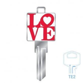 Cms 3d Key Te2 Love Locks Galore