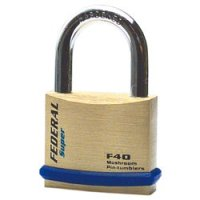 Federal Focus F40 Padlock Keyed to Differ