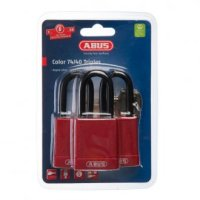 Abus Lockout Padlock Red Triple Pack