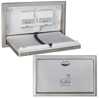 Stainless Steel Surface Mounted  Horizontal Baby Change Station