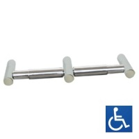Metlam Lawson Series Double Toilet Roll Holder ML6004PSS
