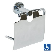 Metlam Lachlan Series Single Toilet Roll Holder with Cover ML6224