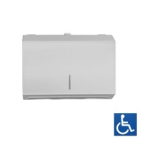 Surface Mounted Paper Towel Dispenser - White Powder Coated