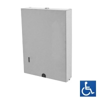 Slimline Interleaved Paper Towel Dispenser