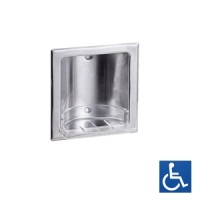 Recessed Satin Stainless Soap Dish