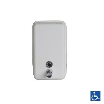 White Vertical Soap Dispenser Locks Galore