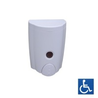 White ABS Foam Soap Dispenser .58L