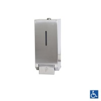 Satin Stainless Foam Soap Dispenser 1L