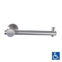 Satin Stainless Concealed Fix Toilet Roll Holder