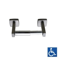 Polished Stainless Single Toilet Paper Dispenser
