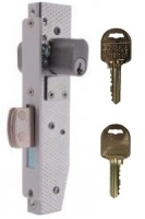 Brava Short Backset Mortice Lock with 22mm Bolt on Ilco IP8 Restricted Keys