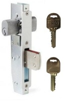 Brava Short Backset Mortice Lock with 36mm Bolt on Ilco IP8 Restricted Keys