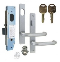 Kaba SBM2 Narrow Mortice Entrance Lock Kit N600 Series Square End On IP8 Restricted Keys
