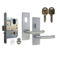 Kaba MS2 Mortice Entrance Lock Kit 600 Series Square End On IP8 Restricted Keys