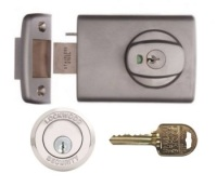Restricted Ilco IP8 Key Lockwood 001 Deadlatch with Open Out Strike