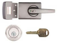 Restricted Ilco IP8 Key Lockwood 001 Deadlatch with Lever