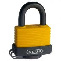 Abus 70AL/45 Expedition Padlock Construction Yellow