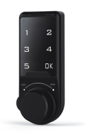 Atlas EL603 Black Electronic Cabinet Lock